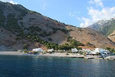 Agia Roumeli Beach near Sfakia, Chania, South Crete
