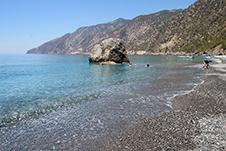 Agios Pavlos Strand in Sfakia, Chania, Kreta, Griechenland