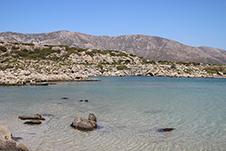 Άσπρη Λίμνη, Ελαφονήσι, Χανιά, Νότια Κρήτη