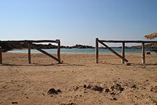 Aspri Limni Strand in Chania, Kreta, Griechenland