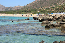 Falasarna Beach near Kissamos, Chania, South Crete