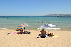Georgioupolis Beach in Apokoronas, Chania, Crete