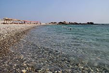 The beach of Gialiskari near Palaioxwra, Chania, West Crete