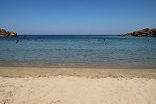 Agioi Apostoloi beach in Chania, Crete, Greece - Western beach
