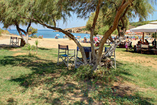 Agioi Apostoloi beach in Chania, Crete, Greece - Eastern beach