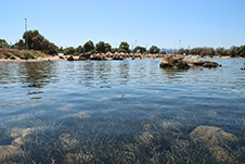 Agioi Apostoloi beach in Chania, Crete, Greece