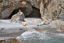 Ilingas Beach near Sfakia, Chania, South Crete