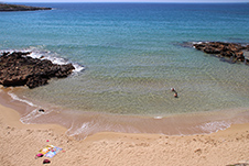 Kalathas Beach in Akrotiri, Chania, Crete, Greece