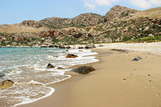 Kokkina Gkremna Beach in Kissamos, Chania, Crete