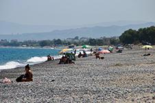 Beach of Kolymbari in Platanias, Chania, Crete, Greece