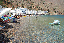 Loutro Beach near Sfakia, Chania, South Crete