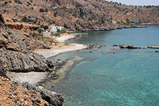 Lykos Beach near Loutro, Sfakia, Chania, South Crete