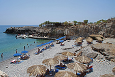 Marmara Beach near Loutro, Chania, Crete, Greece