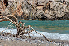 Παραλία Μένιες - Πλατανιάς, Χανιά, Κρήτη