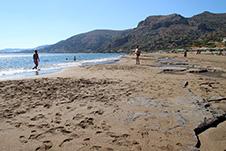 Strand Pachia Ammos, Palaiochora, Chania, Kreta