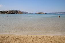 Almirida Strand in Apokoronas, Chania, Kreta, Griechenland