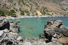 Sentoni Beach near Sfakia, Chania, South Crete