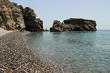 Sougia beach, Chania, West Crete, Greece