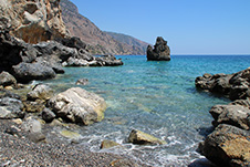 Tripiti Beach near Sougia, Chania, South Crete
