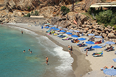 Beach of Chora Sfakion, Sfakia, Chania, South Crete